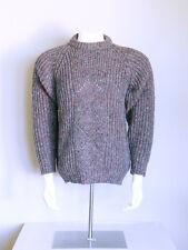vtg 60s mod HIGH ROCKABILLY ATOMIC FLECK psychobilly 100% WOOL argyle sweater L