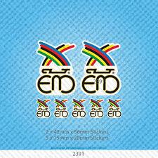 SKU2391 - Eddy Merckx Vintage Bicycle Cycle Bike Frame Decals Stickers