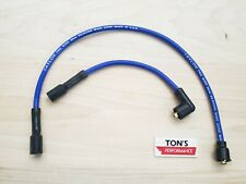 Blue Taylor Replacement Spark Plug Wires Harley 1986 - 2003 Sportster 883 1200