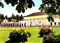 Baden-Baden , Kurhaus , Ansichtskarte,  gelaufen