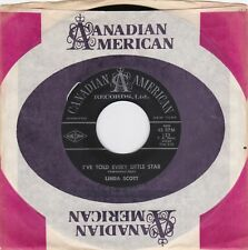 """Linda Scott """"I've Told Every Little Star"""" 1961  Can Am 123  Record & Boot PS"""