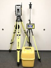"Trimble RTS555 DR STD 5"" Robotic Total Station w/ Yuma 2 Tablet Survey S6"