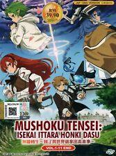 Anime DVD Mushoku Tensei: Isekai Ittara Honki Dasu Vol.1-11 End English Dubbed