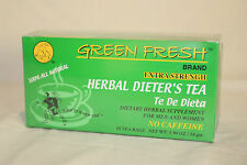 Green Fresh EXTRA Strength Herbal Diet Tea for Weight Loss (18 count)- MI U.S.A.