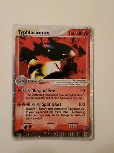 Typhlosion EX 99/100 Ultra Rare Holo- Pokemon Ex Sandstorm
