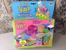 #90S Rare Galoob Tiny Troll Town  Playset Moc #DREAM HOUSE VILLA DEI SOGNI