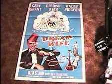 DREAM WIFE MOVIE POSTER '53 CARY GRANT DEBORAH KERR