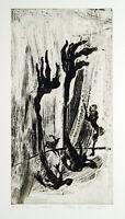 Untitled, 1999. Radierung von Frank SEIDEL (*1959 D), handsigniert