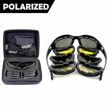 Army Sunglasses 4 Lens Kit Military Goggles Polarized