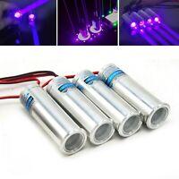 405nm 200mW Dot Thick Beam Laser Diode Module Violet/Blue Stage LED Light 3.7-5V