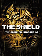 The Shield Seasons 1 to 7 Complete Collection DVD UK DVD