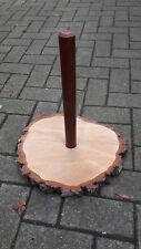 1x Australien Didgeridoo Ständer Holz Baumscheibe