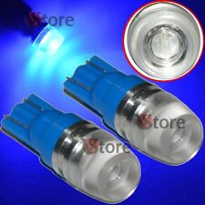 2 Led T10 Lampade 2 SMD 5630 Luci Blu Lente Posizione Targa Xenon Lampada 5W