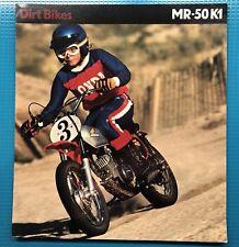 Original New Copy Of Honda MR50 K1 Brochure
