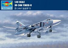 TRUMPETER 1/48 02835 SU-24M FENCER D MILITARY AIRCRAFT ◆