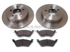 OEM SPEC FRONT DISCS AND PADS 302mm FOR CHRYSLER USA VOYAGER 3.3 2001-07