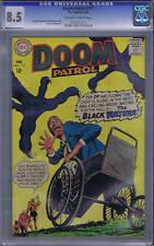 Doom Patrol #117 DC 1968 CGC 8.5