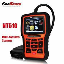 Foxwell NT510 OBDII All Systems ABS SRS Engine Code Reader Car Diagnostic Tool A
