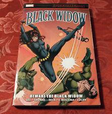 BLACK WIDOW EPIC COLLECTION Vol 1 BEWARE THE BLACK WIDOW MARVEL TPB AVENGERS