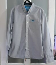 Superdry new york button down collar check shirt size L vgc long sleeve