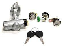 Ignition Lock Barrel Switch 2 Keys Door Lock Set for Nissan Micra K11 1992-02/03
