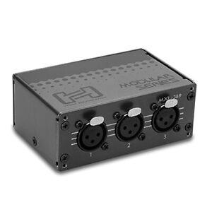Hosa MXL-369 Balanced XLR Patch Bay Analog Module XLR3F to XLR3M