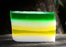 FULL LOAF 1.2kg AUSTRALIAN LEMON MYRTLE Olive Oil HANDMADE SOAP & BODY CLEANSER