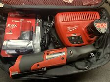 Milwaukee M12 FUEL 3/8 in. Ratchet 2 Battery Kit 2557-20 PLUS $130 Large XC 4.0