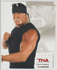 Hulk Hogan Officially Licensed TNA Wrestling Promo Photo