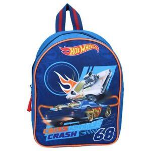 Hot Wheels Kinder Rucksack Made to race Cars Autos Kindergarten Tasche Junge Bag