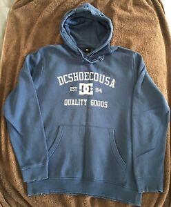 DC SHOES Classic Hoodie Sweatshirt Size Large