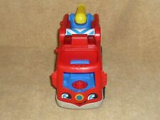 Fisher Price Little People Musical Red Fire Truck Lights Water Hose #3