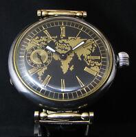 DOXA Antique 1930's Men's Deco Wristwatch Deco Dial
