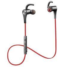 New!! SoundPEATS Q12 Bluetooth Earphone Headset Earphone Red from Japan Import