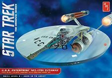 It Star Trek TOS Plastic Modelkit 1/537 Enterprise Cutaway AMT Astronavi