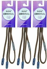 Gogrip on Guard Quick Release Glasses Spectacle Cord Lanyard Chain Brown 3 Pack