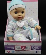 You & Me Chatter and Coo Baby Doll - 14 inch