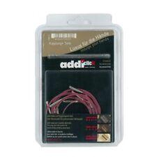addi-click auswechselbare Seile / Nadelseile 5er-Set 40/50/60/80/100 Stricknadel