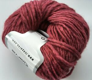 Amaranth (Pinkish-Red) Wool Cord #59828 Ice Wool Acrylic Yarn 50 Gram 109 Yards