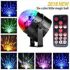UK Disco DJ Party Club Stage Crystal Ball Effect RGB Light Rotating LED Lighting