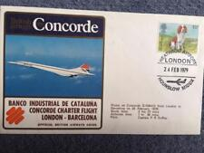 British Airways Concorde First Flight London - Barcelona 24th February 1979
