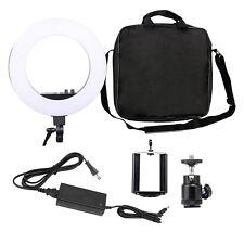 Zomei 12-inch Inner/14-inch Outer LED Ring Light 36W 5500K Lighting Kit Camera