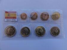 Unzirkulierte einzelne Kursmünzen aus Spanien Euro