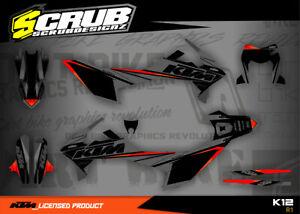 KTM graphics Enduro R 690 stickers 2019 2020 2021 SCRUB decals '19 '20 '21