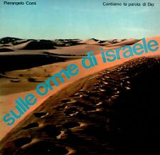 LP 7770  SULLE ORME DI ISRAELE  PIERANGELO COMI