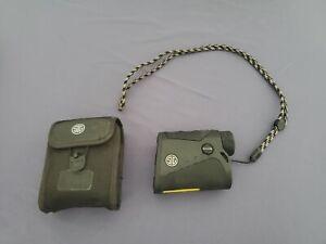 SIG SAUER KILO 850 4x20 Digital Laser Rangefinder with case