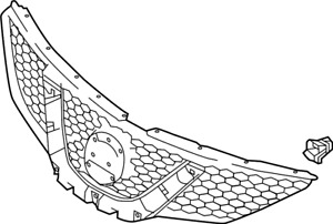 Nissan/INFINITI 62310-6MG0B Grille (Front).