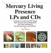 Complete Mercury Living Presence CDs & LPs Database; now includes all 5 Box Sets