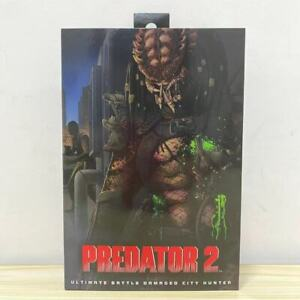 "NECA Predator 2 Ultimate Battle Damaged City Hunter 7"" Action Figure OFFICIAL"