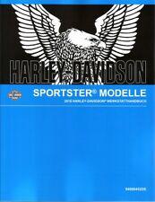 Harley-Davidson Werkstatthandbuch 2018 XL 883l Sportster 883 Superlow deutsch
